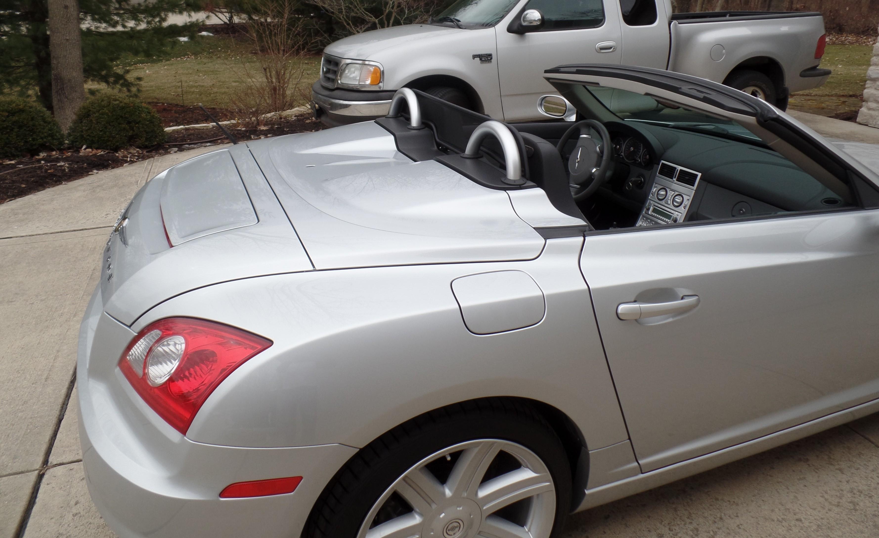 windschott f r chrysler crossfire roadster 2007. Black Bedroom Furniture Sets. Home Design Ideas