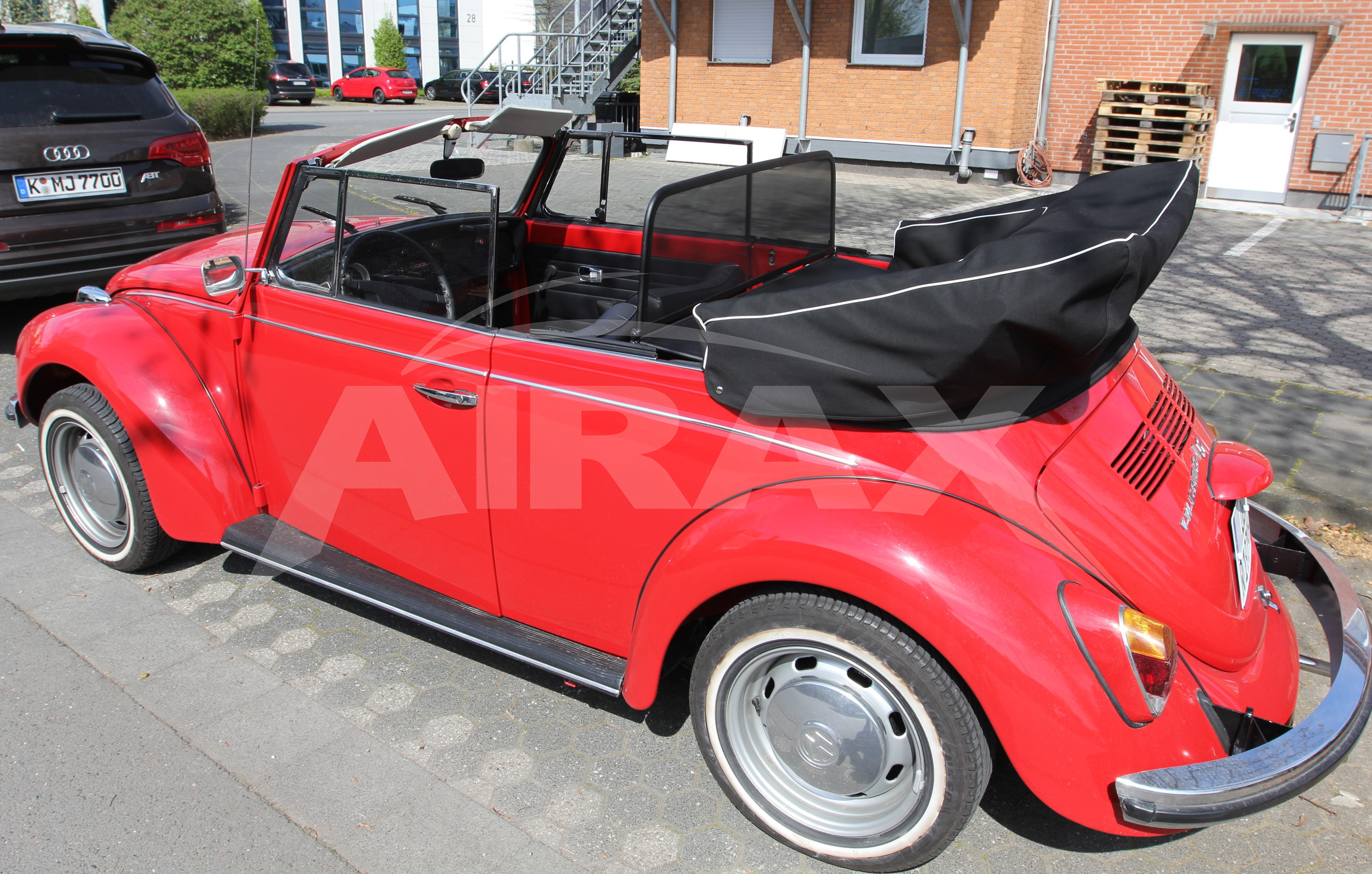 wind deflector for vw beetle 1302 1303 with quick release. Black Bedroom Furniture Sets. Home Design Ideas