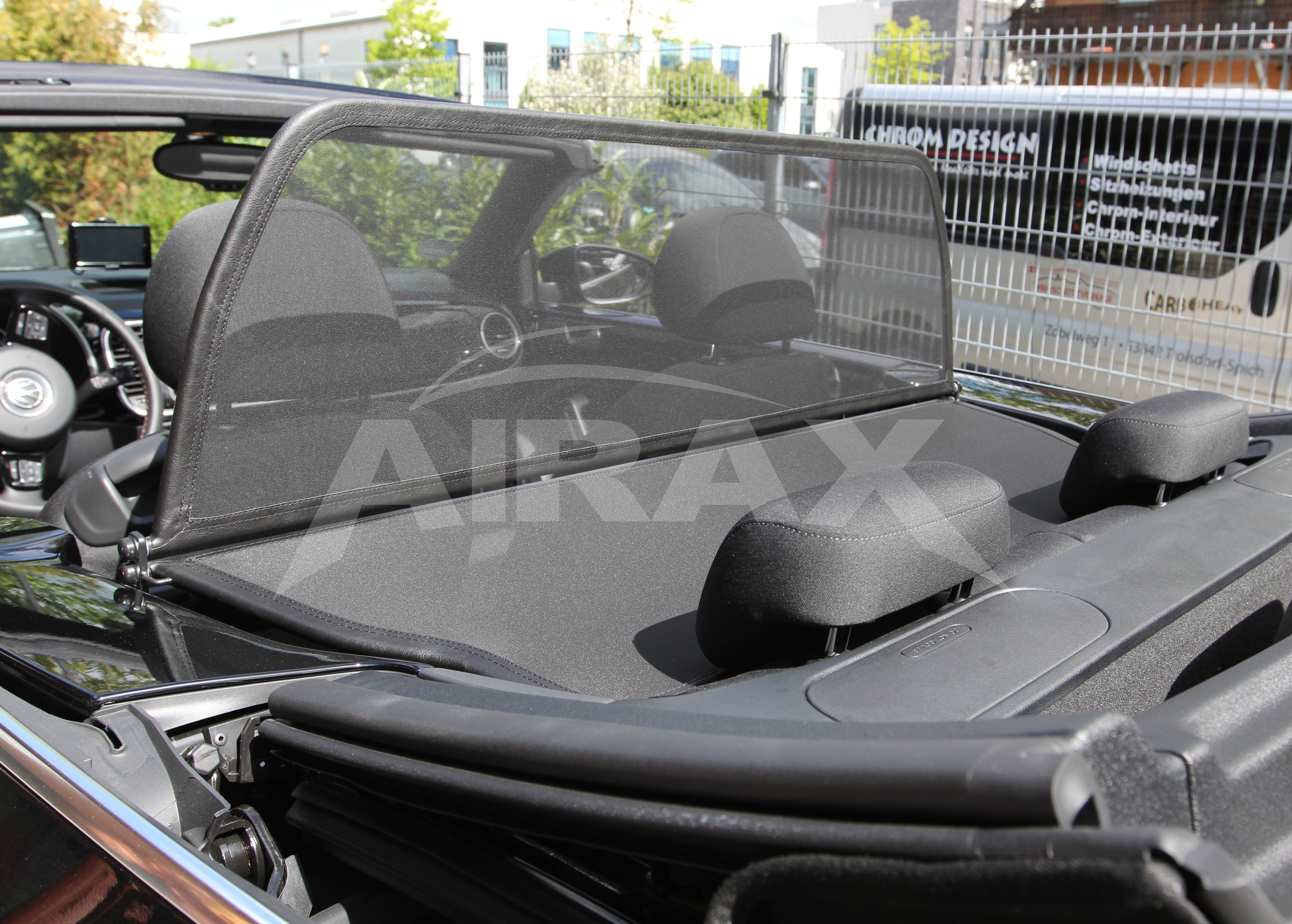 how to make a convertible wind deflector