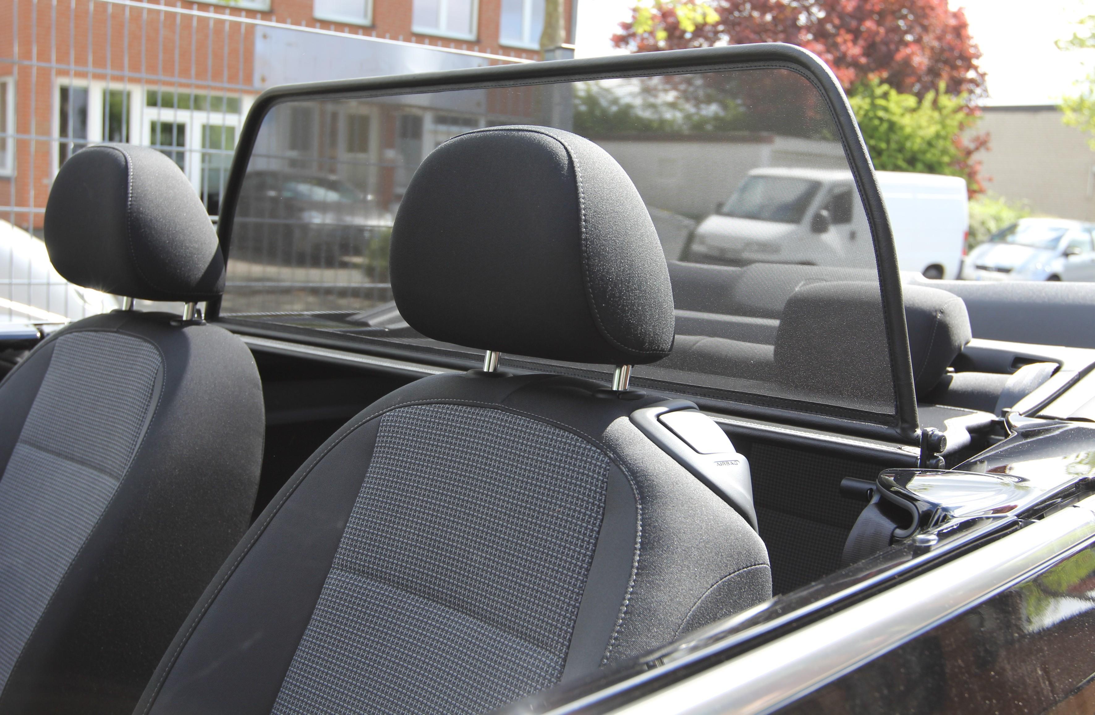 windschott mit schnellverschluss vw the beetle cabrio 11. Black Bedroom Furniture Sets. Home Design Ideas