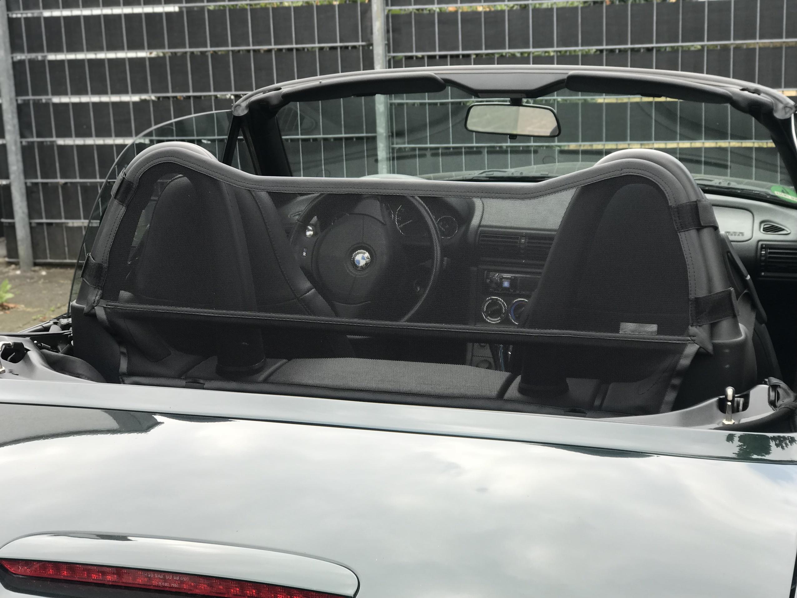 """AIRAX Windschott für BMW Z3 /""""M/"""" Original Bügel"""