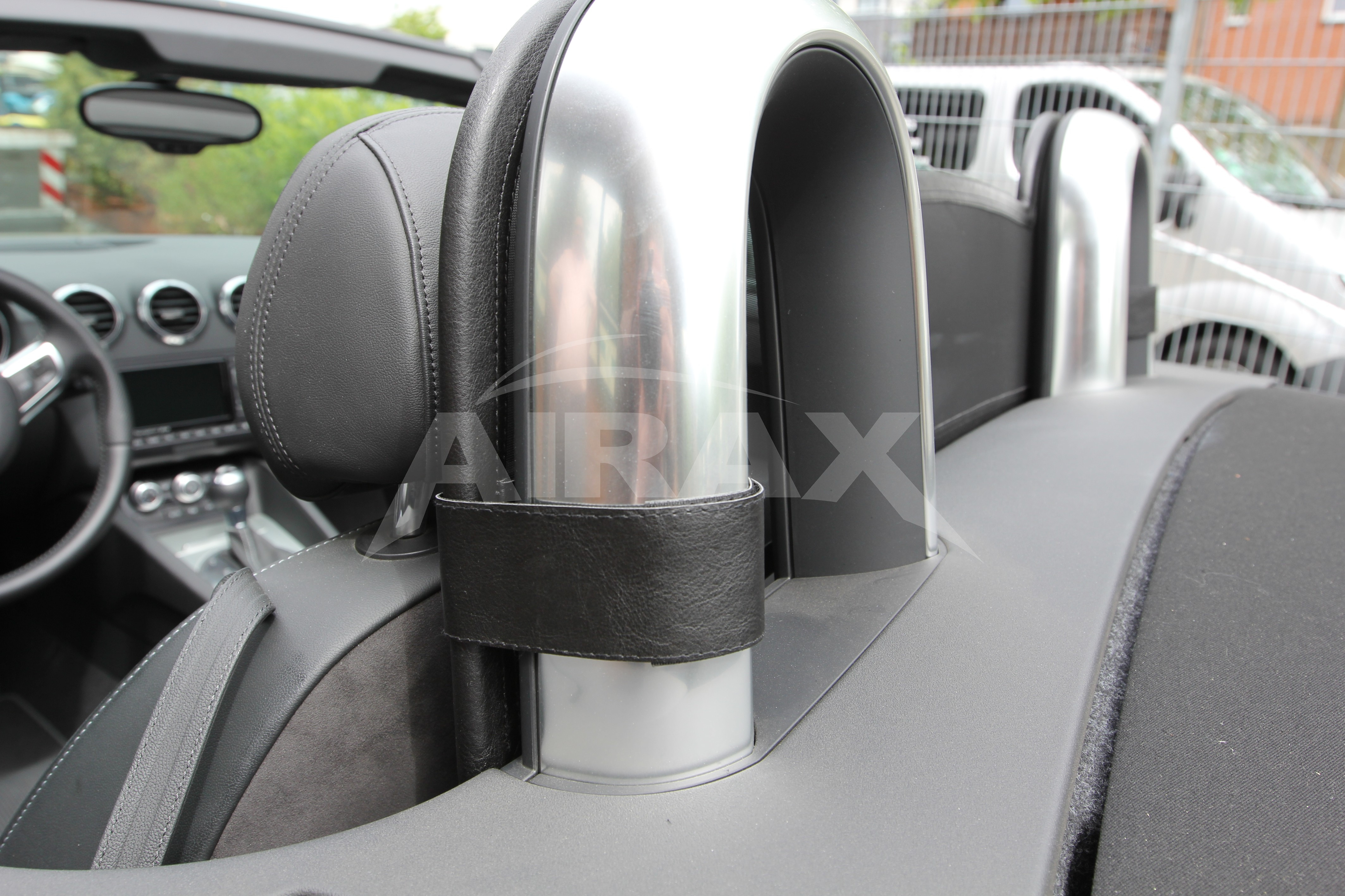 wind deflector for audi tts 8j built year 2006 2014 wsp011 ebay. Black Bedroom Furniture Sets. Home Design Ideas