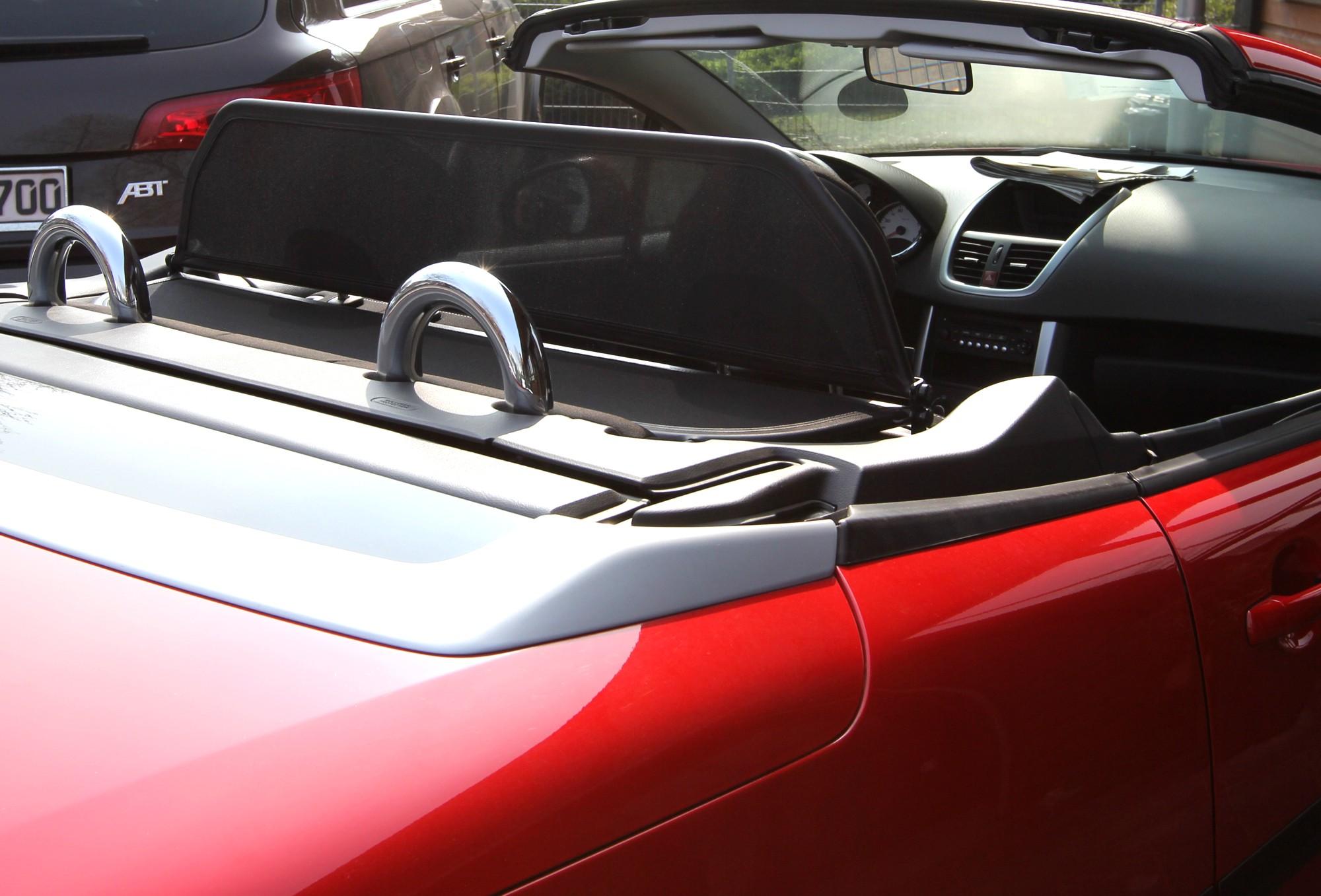 airax windschott schnellverschluss peugeot 207cc 207 cc bj