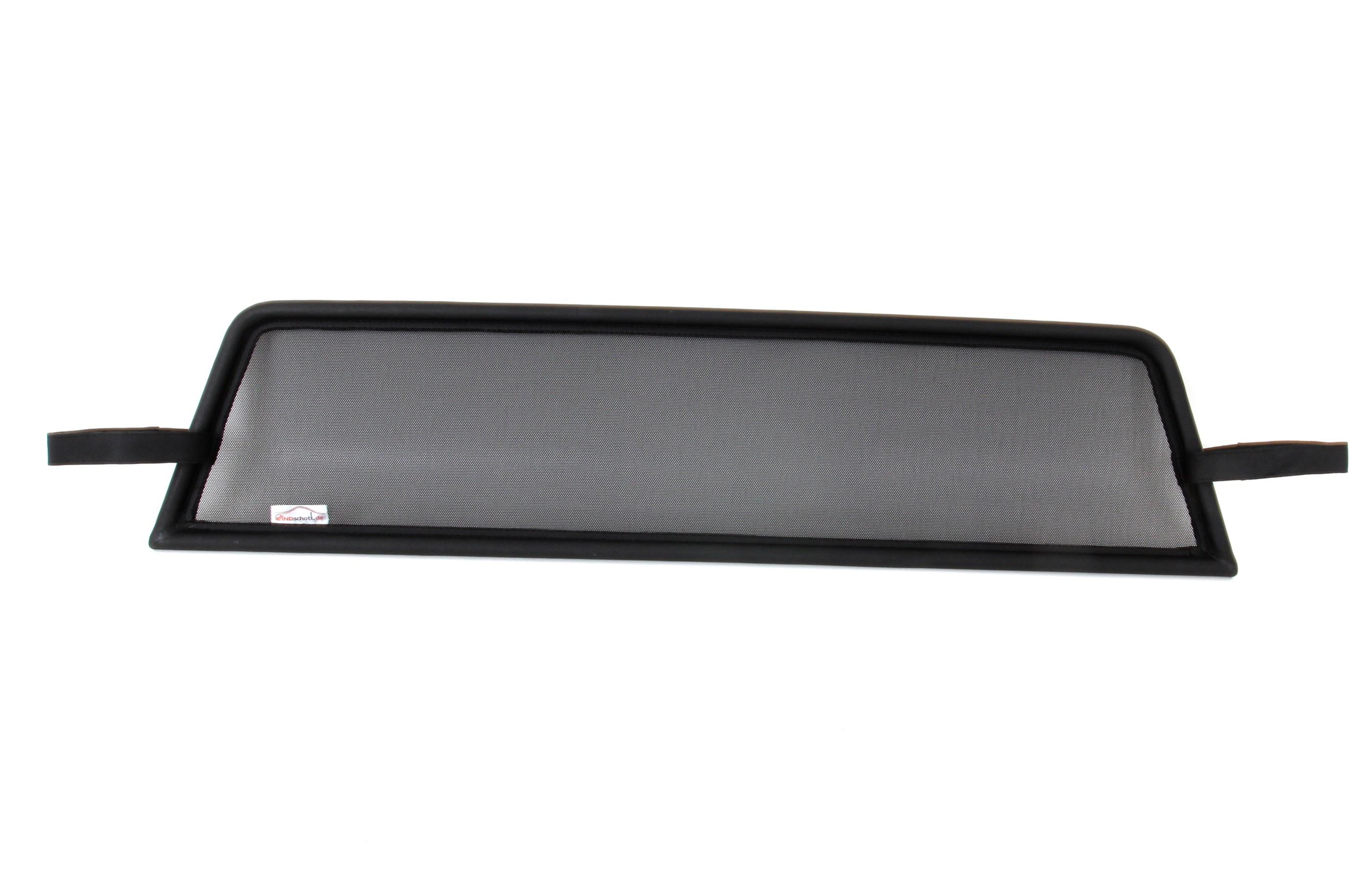 Airax deflector de viento para mazda mx-5 NC marco de acero con malla en negro 2005-2015